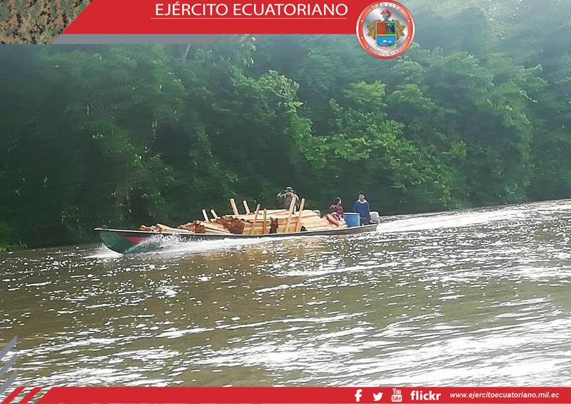 25 m3 of illegal Balsa wood seized near Ishpingo