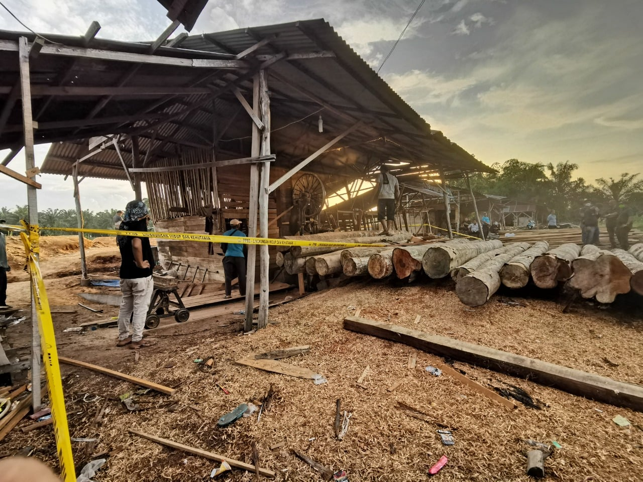 Illegal sawmills dismantled in Teratak Buluh