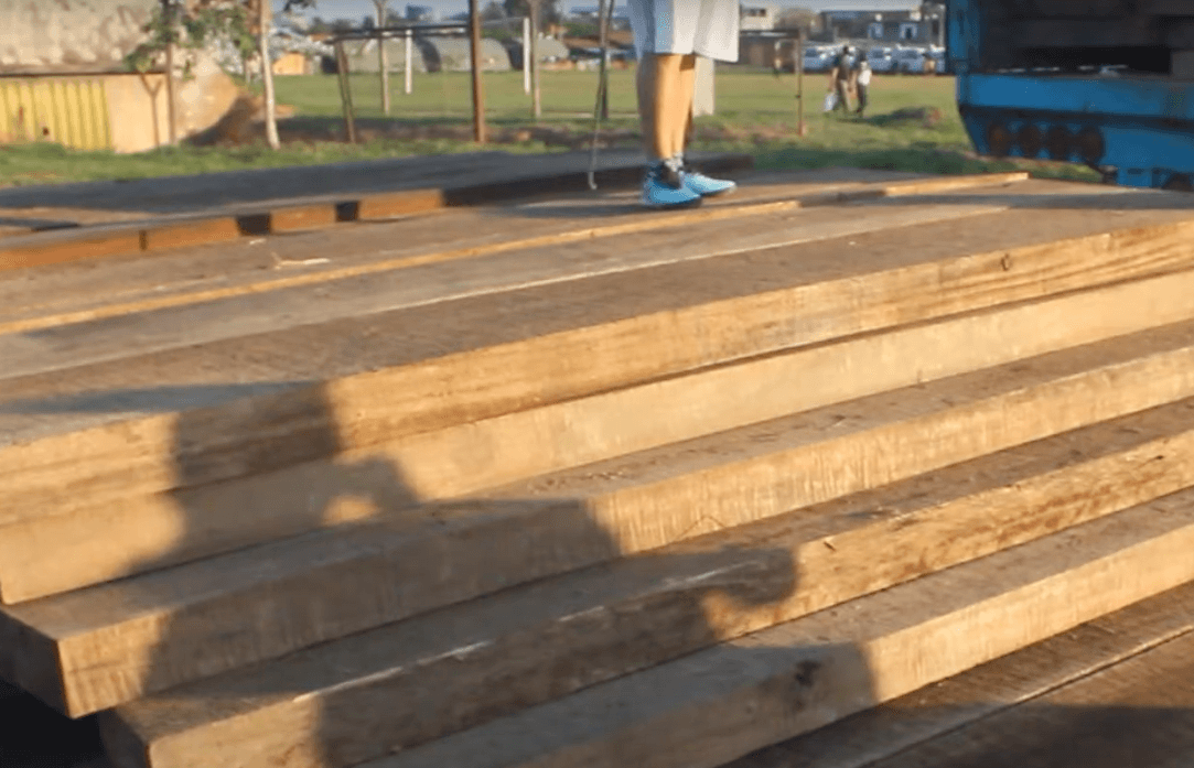 122m3 of illegal lumber including Mahogany and Cedar seized in Sudadero